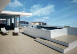 attico con piscina - appartamento di lusso ancona Domus Passetto