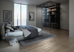 camera letto - appartamento di lusso ancona Domus Passetto