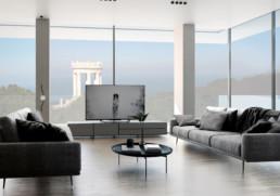 Interno salotto - immobile di prestigio ancona Domus Passetto