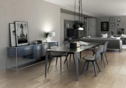 soggiorno - appartamento di prestigio ancona Domus Passetto