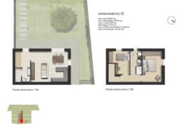 planimetria pianta appartamento D residenza di prestigio sirolo ancona